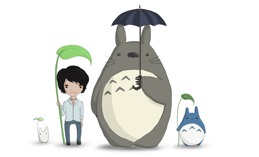 Totoro May: Totoro And Friends By Joanna-May On DeviantArt