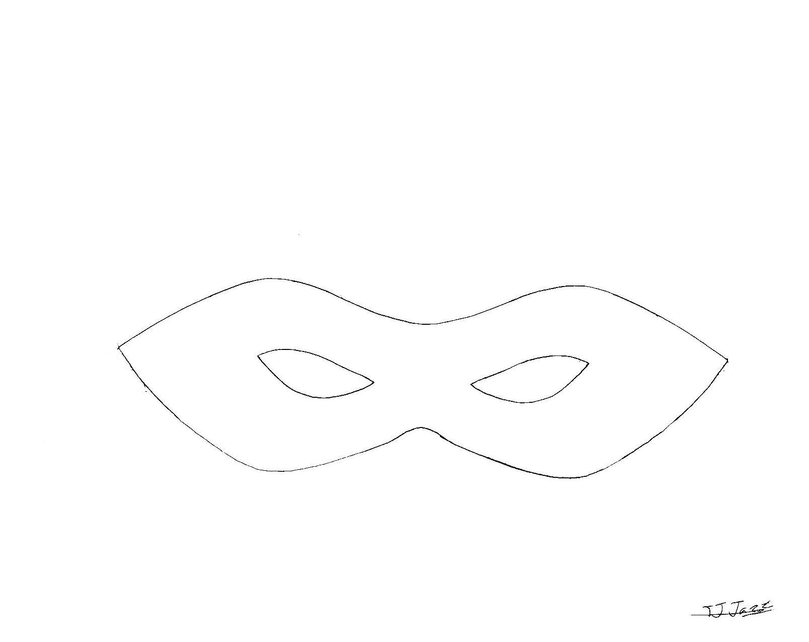 Superhero Mask Template by TJ-Jazz on DeviantArt