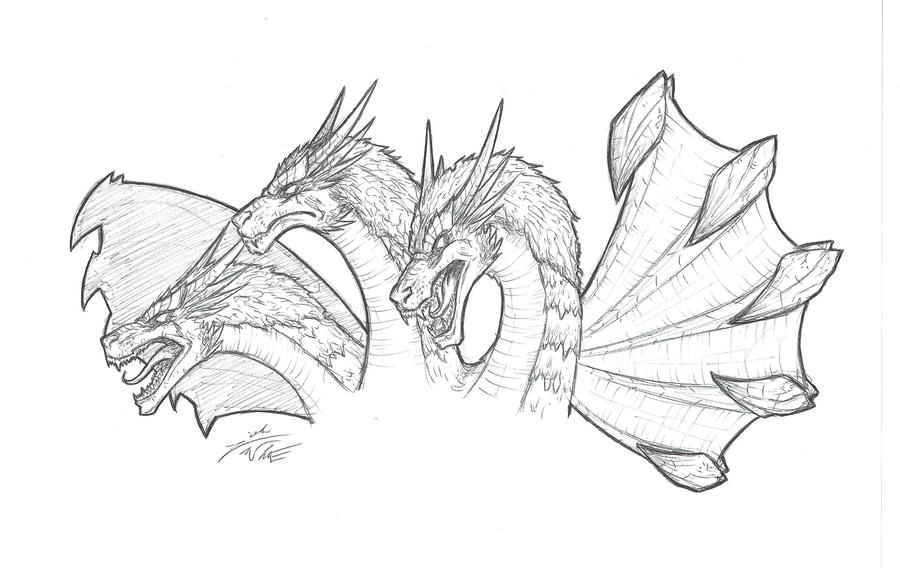 King Ghidorah by Jougeroth on DeviantArt