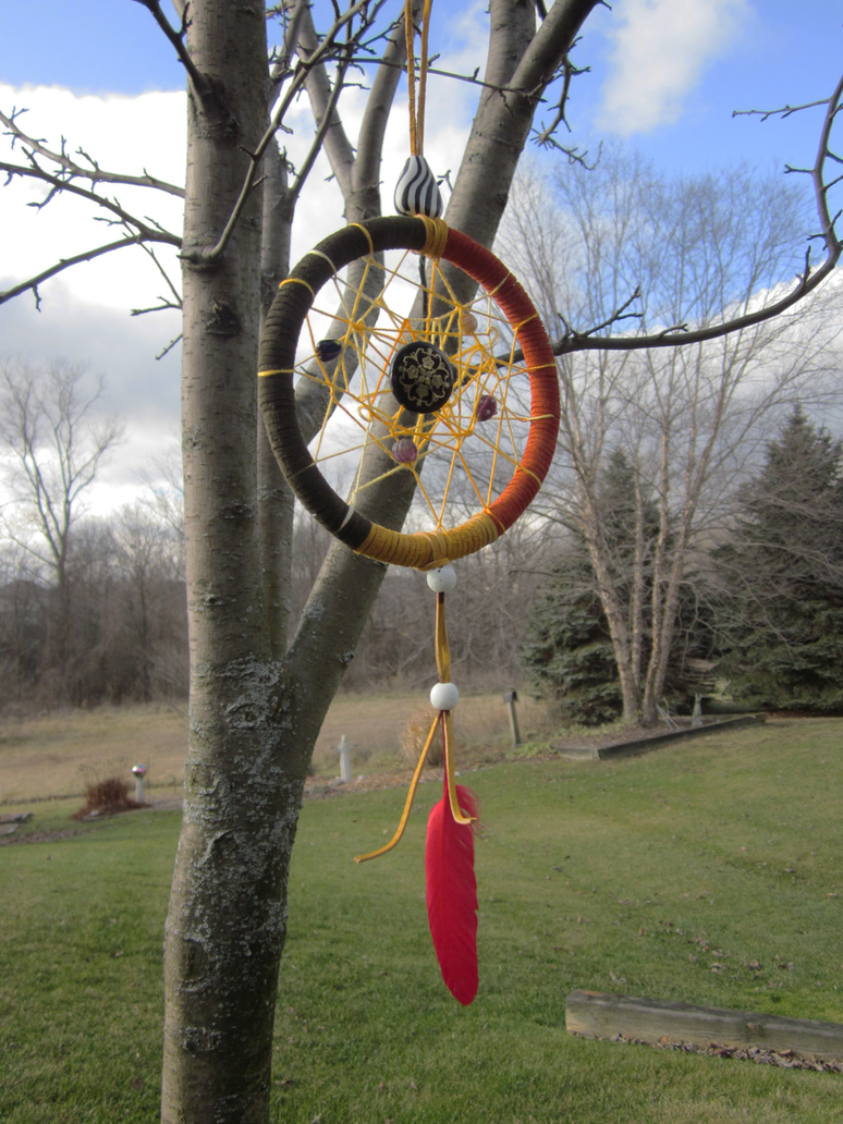 Firey Dreamcatcher by BlindMediaProduction