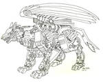 My zoid by lupinemoonfeather