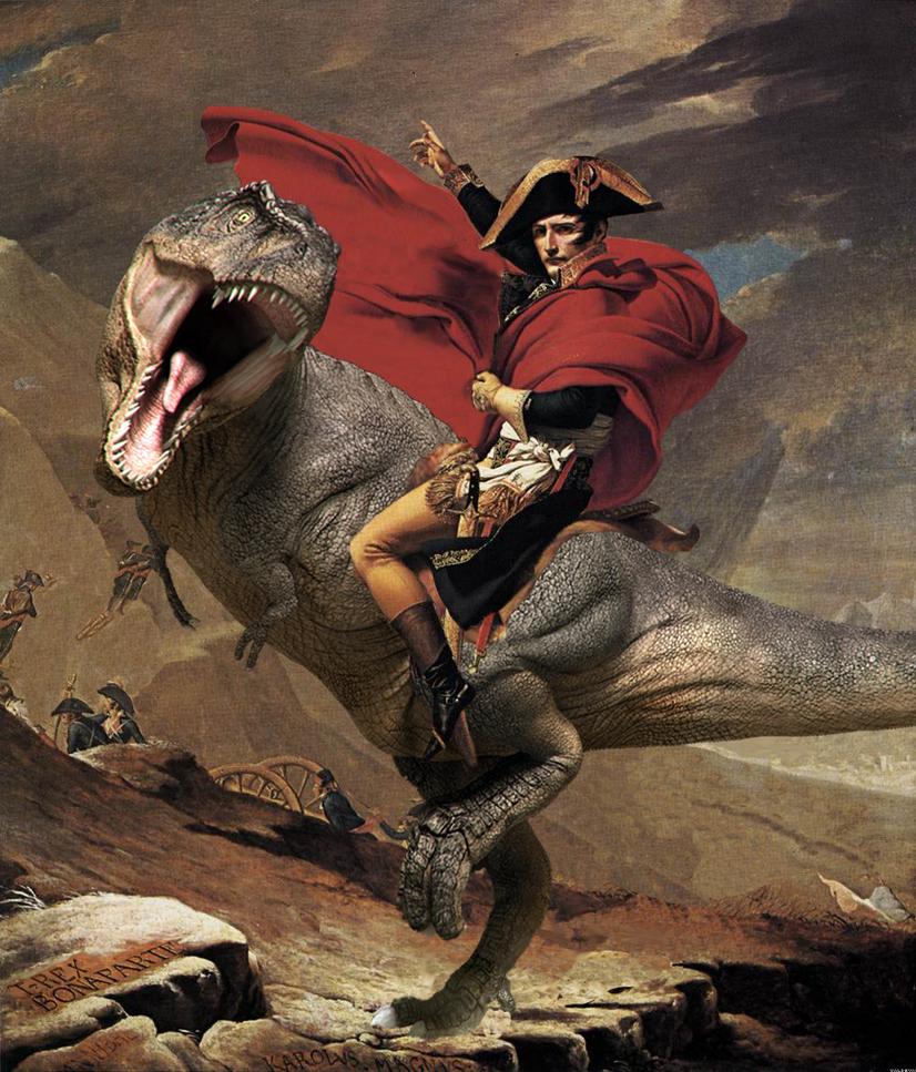 Napoleon Rex by Valdevia