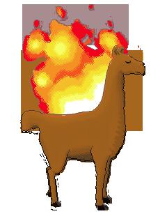 Flam-a-Llama! by Valdevia