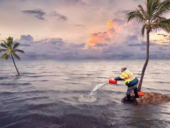 Rising Sea Levels -  Futile #2 by Valdevia