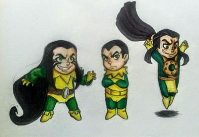 .:Loki Spam 1-Chibiiiiiis:. by xGoldenLocks