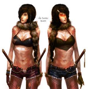 da sexy samurai twins
