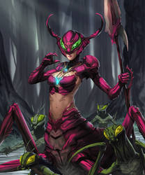 MDZ Cherry Ant Queen by dcwj