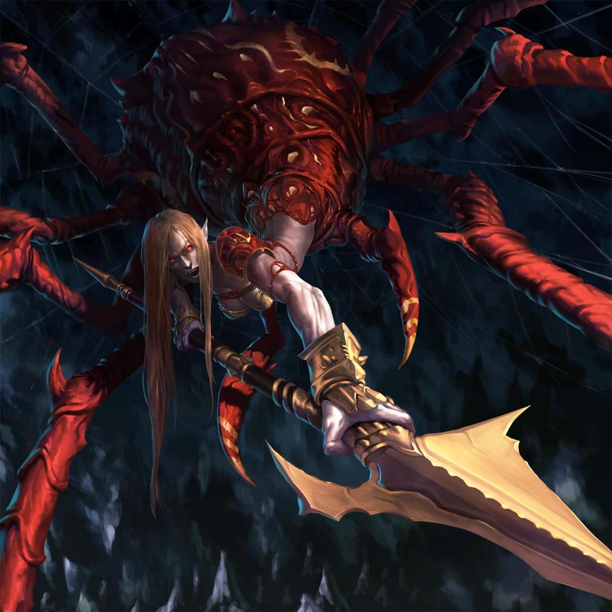 LON dracnid recluse by dcwj
