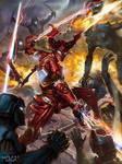 Galaxy saga red demon toned torrin
