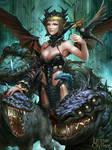Lady Satan regular version