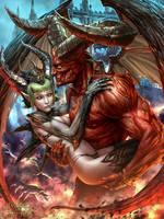 Lady Satan Evolved Version by dcwj