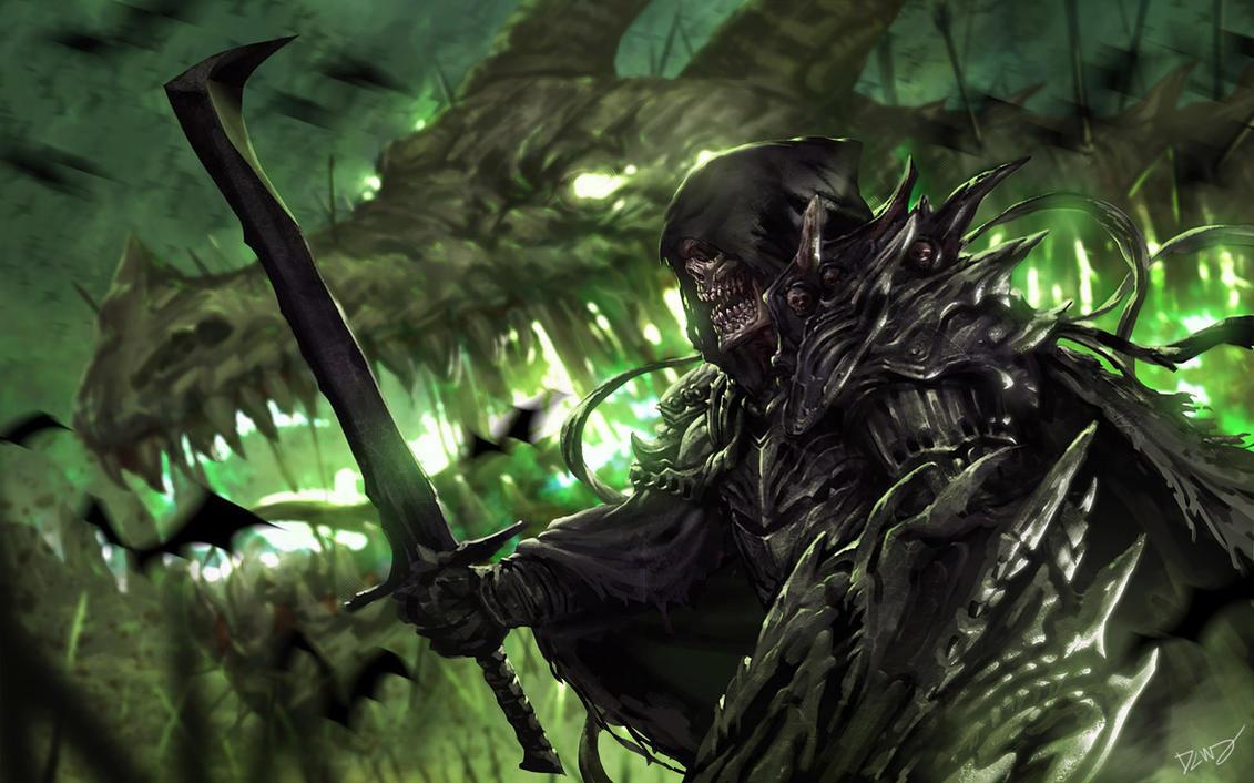 Undead knight by dcwj