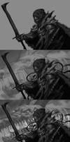 Undead Knight Work Process