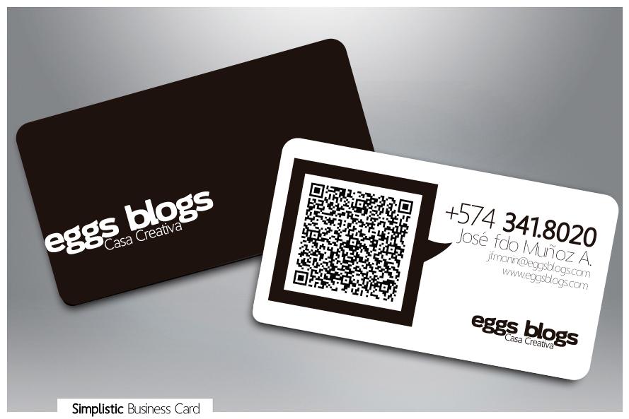 Simplistic Business Card by moninjose on DeviantArt