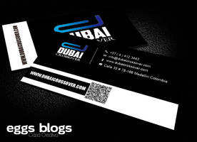 Business Card Duibai Discoteca Crossover by moninjose