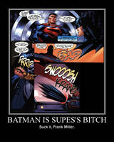 Suck it, Frank Miller by SaintHeartwing