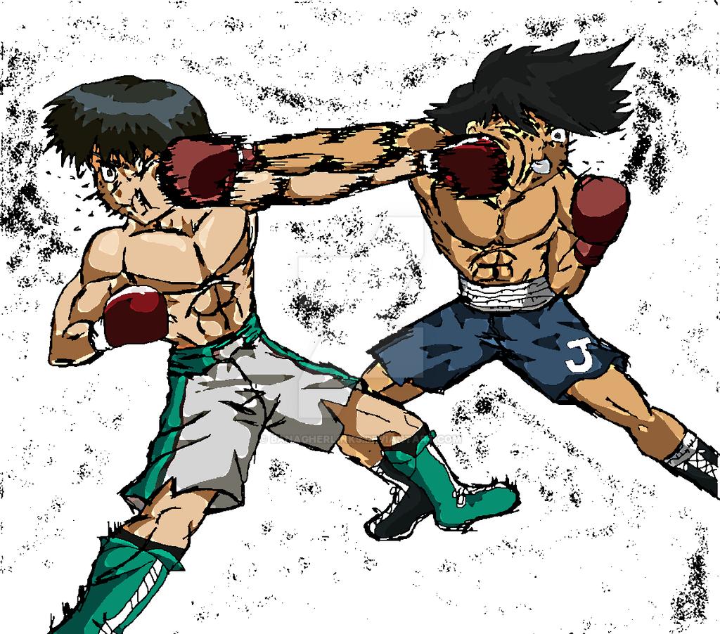 Cross Counter Clash!!! Joe Vs Miyata By Banagherlinks On