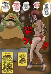 Jabba's new pet! X3 by Banagherlinks