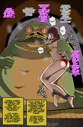 Jabba's new pet! part 2 X3 by Banagherlinks
