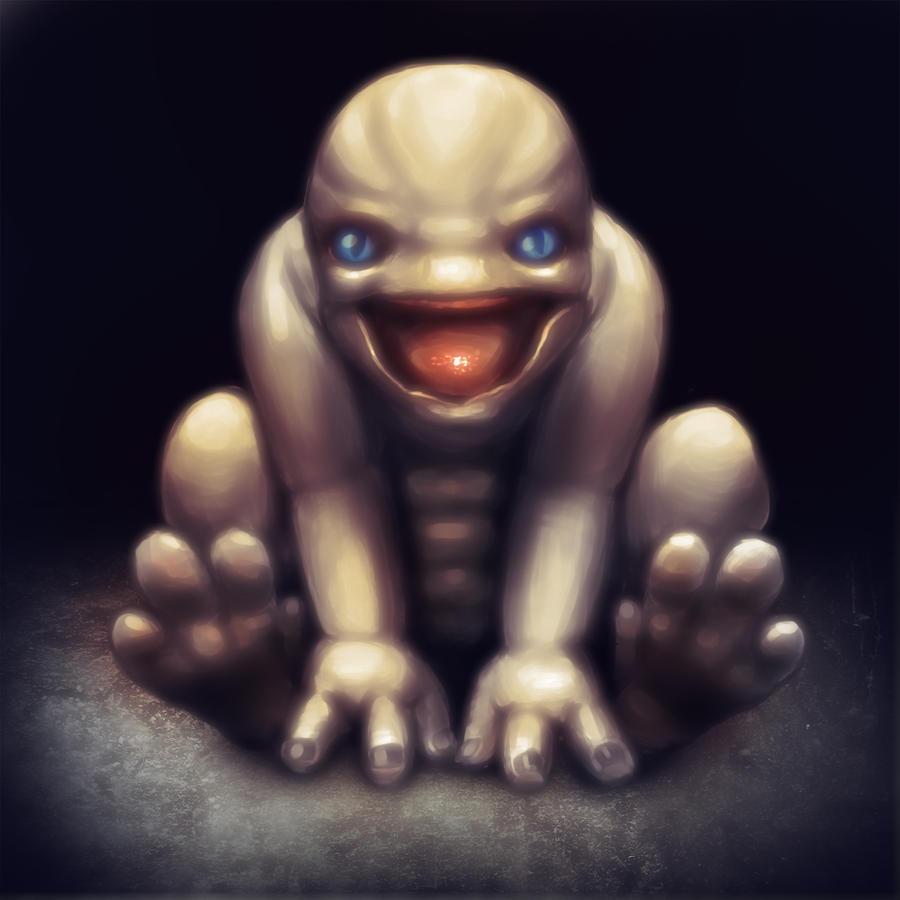 Asari Baby Mass Effect - Krogan baby by