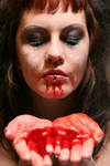 Blood and Babypowder .07 by BloodyBlackCat-Stock