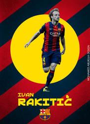 Ivan Rakitic Poster by AbuKlila
