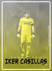 Iker Casillas Poster by AbuKlila