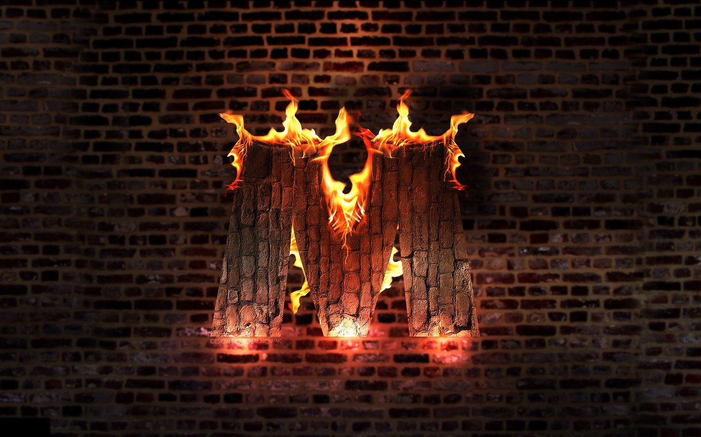 M On Fire By MichalNowak