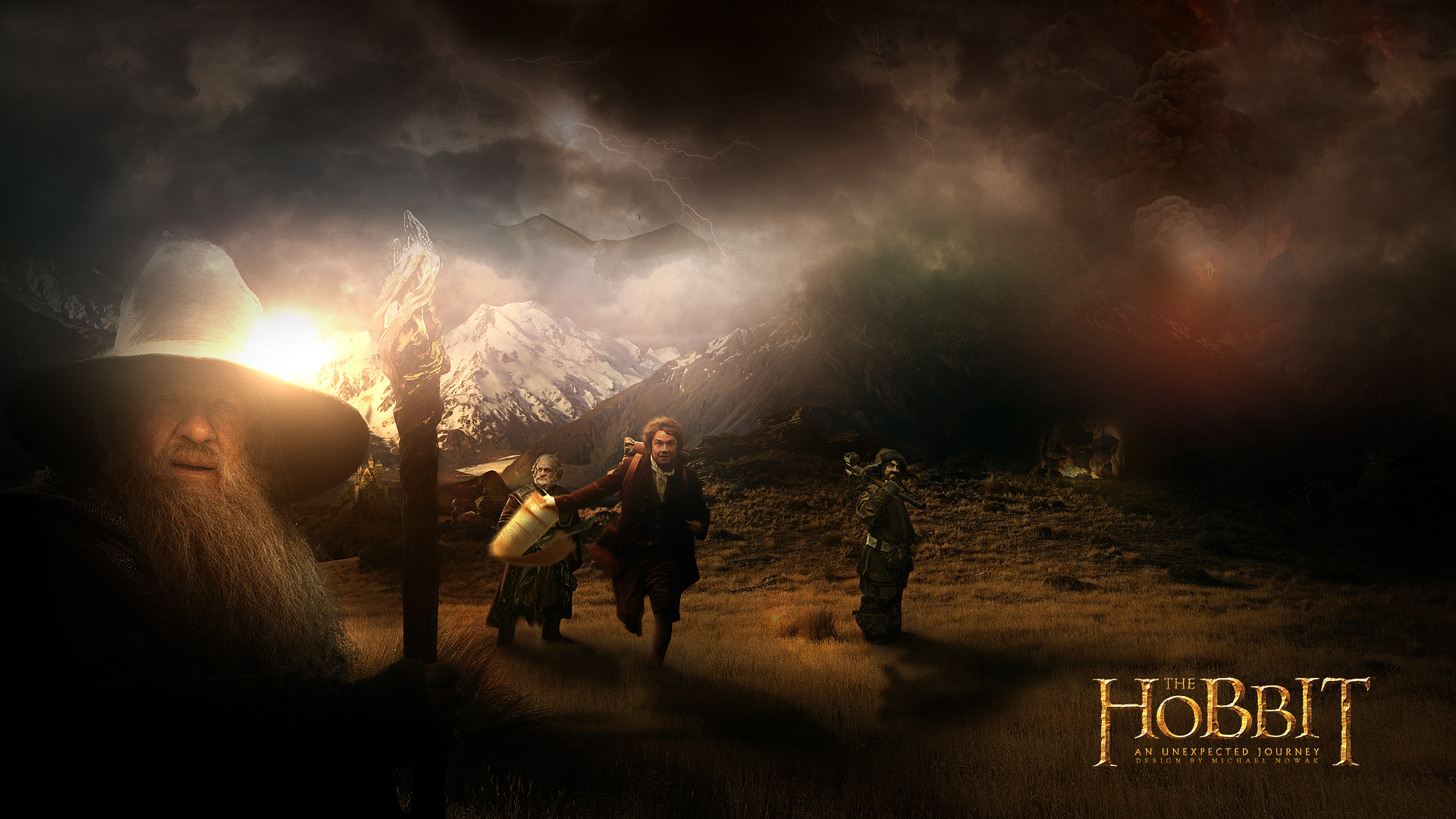 The Hobbit An Unexpected Journey Movie Characters Hd