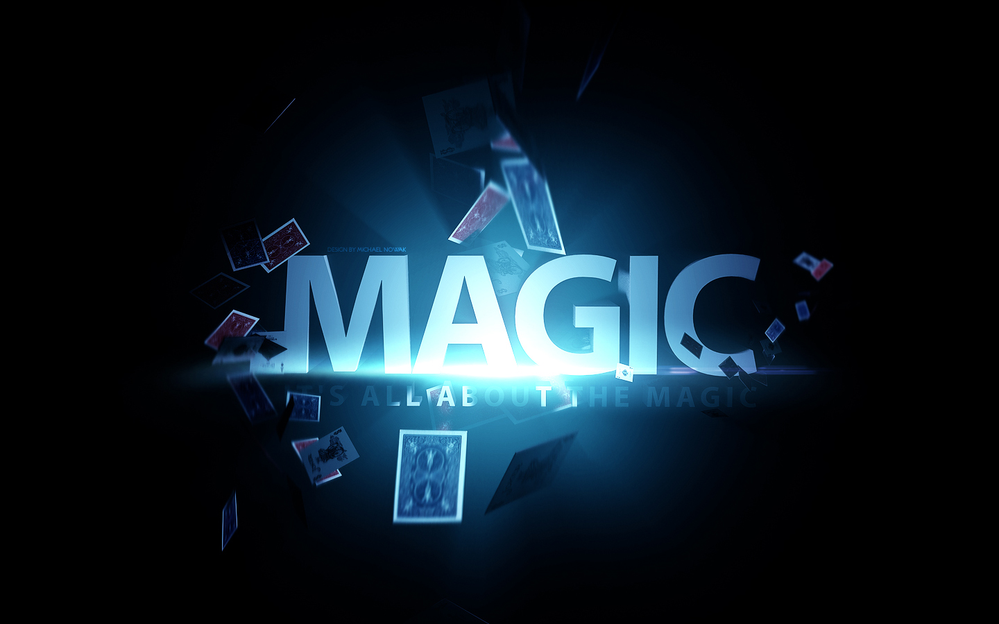 It's all about the magic - wallpaper by MichalNowak