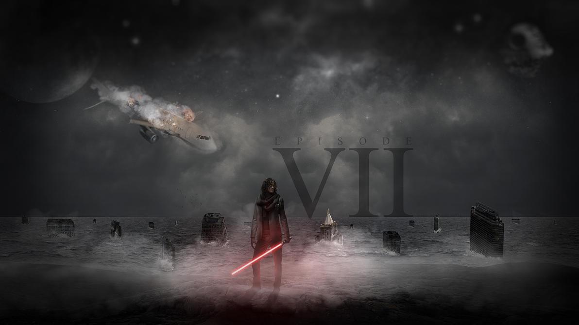 star wars episode vii - my vision - wallpapermichalnowak on