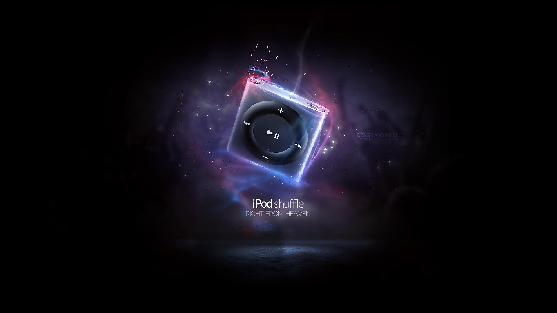 iPod Shuffle wallpaper by MichalNowak on DeviantArt