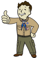 Vault Boy Scouts (Or - The Nuclear Boy Scouts) by dragonman1997