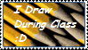 Drawing in Class Stamp by DarkStarGirl77