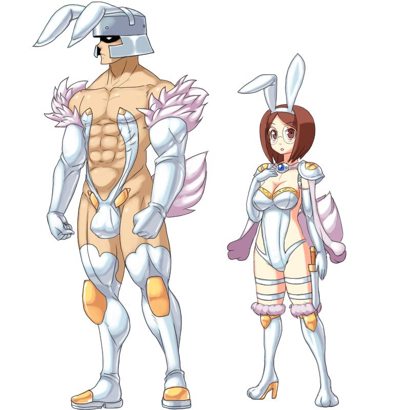 ...Like rabbits by cap-tan