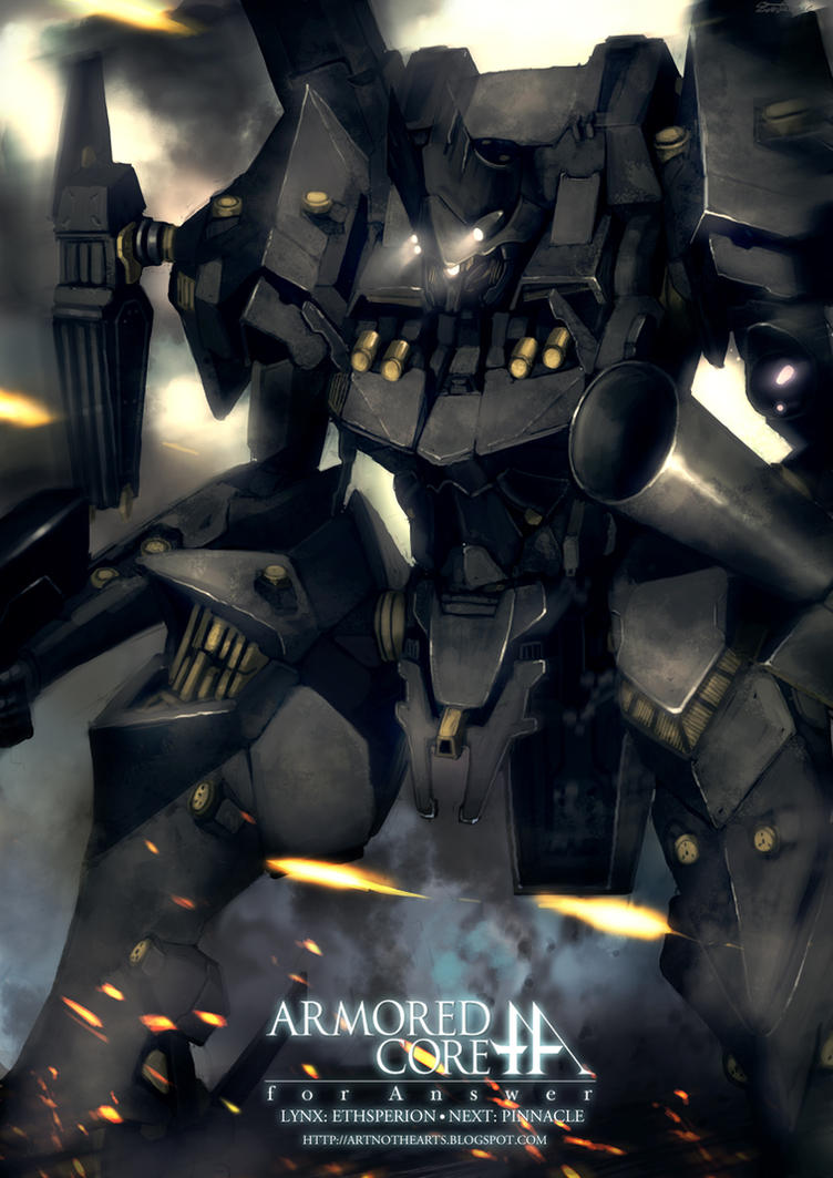 063AN Armored Core For Answer by ArtNotHearts