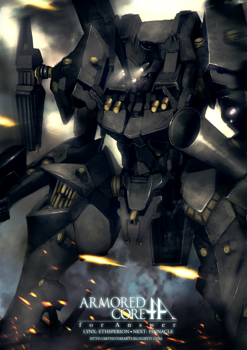 063an Armored Core For Answer By Artnothearts On Deviantart