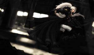 Mercenary Shauna Vayne by ArtNotHearts