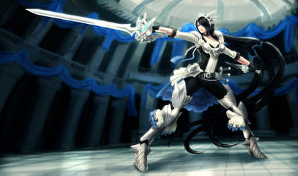 The Queen of Duels Fiora