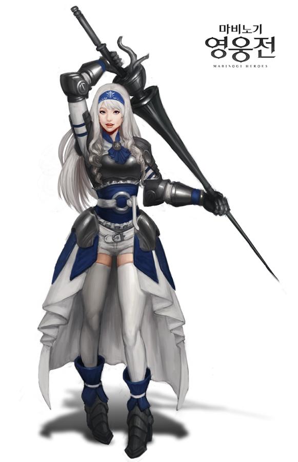 Mabinogi Heroes Season 3 - Blue Lily by ArtNotHearts