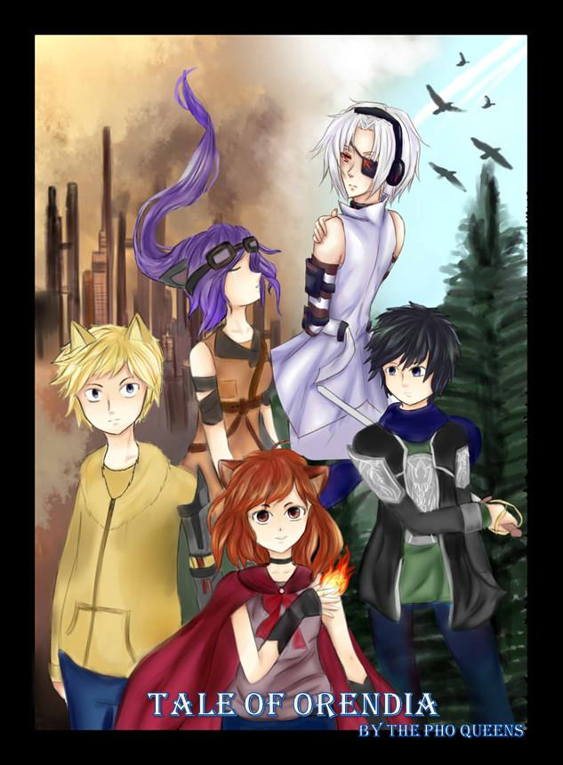 Tale Of Orendia Title Page by TaiyokoChan