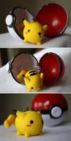 pikachu - no. 025 by resubee