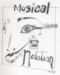 Musical Notation by SweetMelpomene