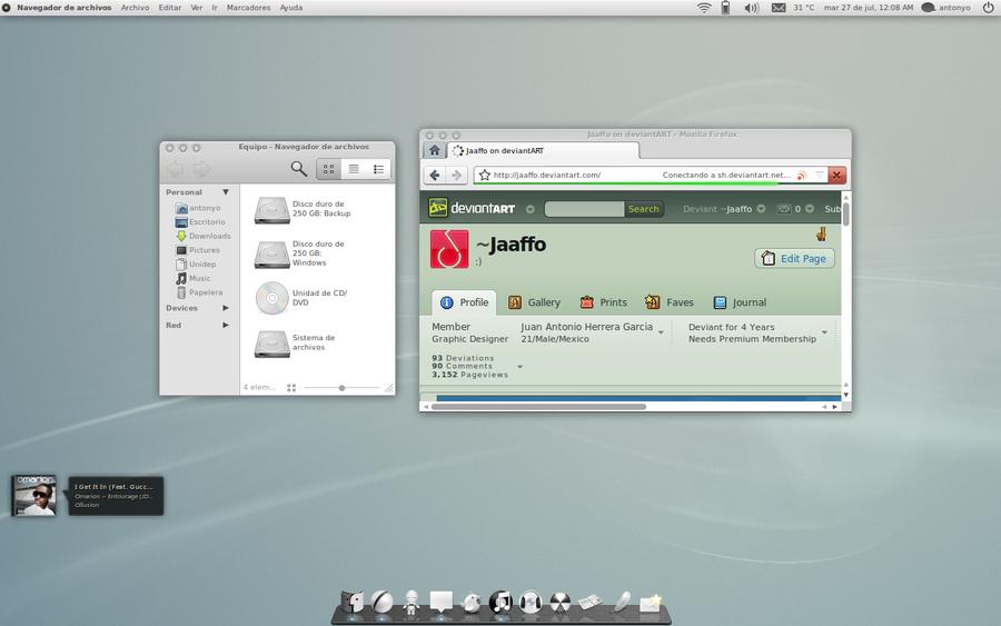 July Ubuntu by Jaaffo