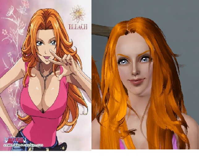 Sims 3 Anime Characters : Sims bleach matsumoto by ammn on deviantart