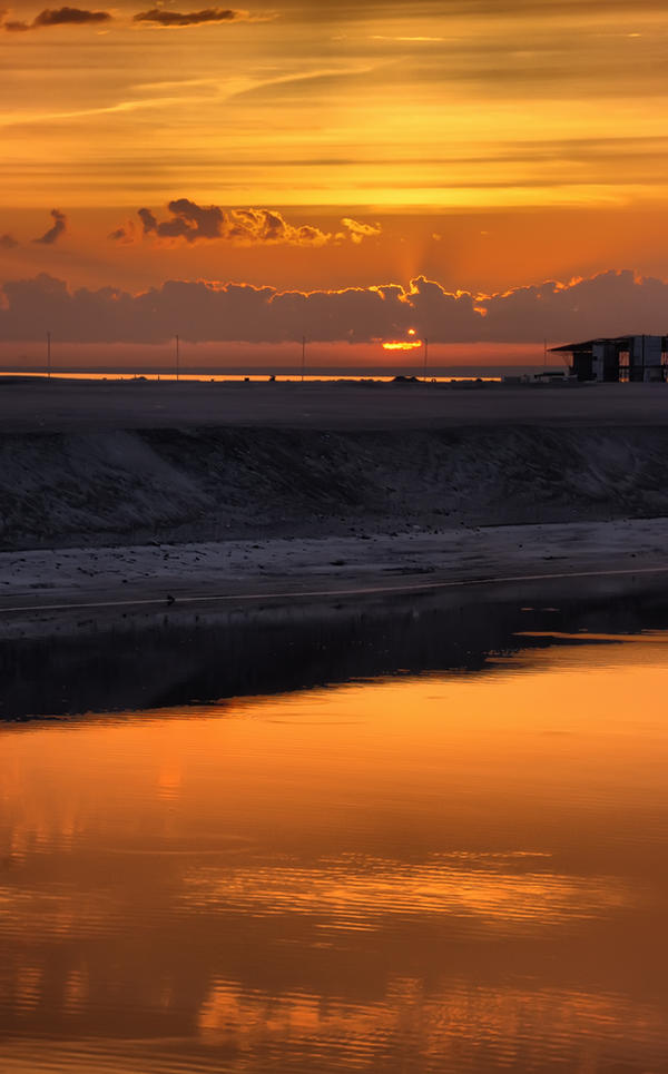 Marsian Sunset by xrust