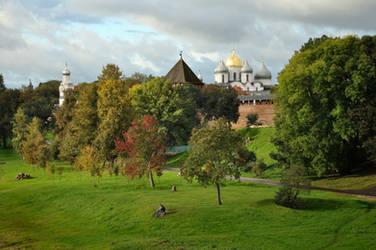 Autumn in Veliky Novgorod by xrust