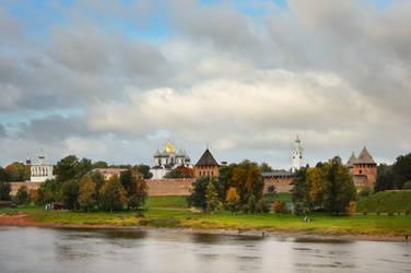 Autumn in Novgorod II by xrust