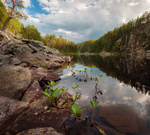 Pizanets lake