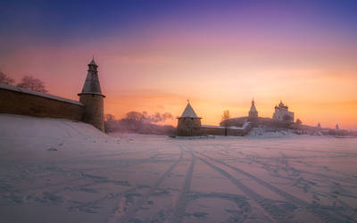 Color of Russian winter by xrust